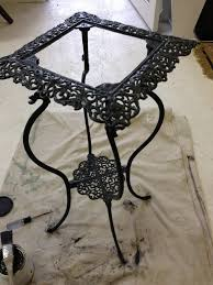 Best Way To Paint Metal Patio Furniture Lilyfield Life Annie Sloan Chalk Paint On Rusty Metal