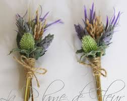 Mens Boutineer Country Boutonniere Etsy
