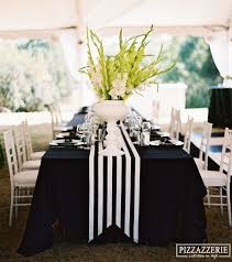 black and white table runners cheap black and white striped table runner home decorating ideas