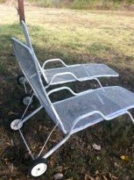 Patio Lawn Chairs Mid Century Modern Eames Metal Patio Chaise Lounge Chair