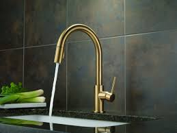 delta 9159 dst trinsic pull down spray kitchen faucet with