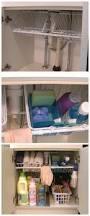 Bathroom Cabinet Organizer Under Sink by Undersink Cabinet Organizer With Pull Out Baskets Dollar Store