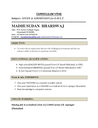 Resume Examples Teacher by Bunch Ideas Of Sample Teacher Resume Indian Schools For Resume