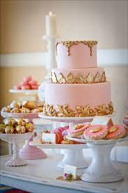 pink and gold cake table decor 9 pinterest pink wedding cakes photo pink and gold cake table