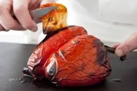 comment cuisiner les poivrons rouges comment eplucher des poivrons au four technique de cuisine