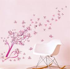 Heart Wall Stickers For Bedrooms Zooyoo Flowers Butterfly Pen Love Heart Wall Stickers Bedroom
