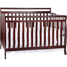 Convertible Crib Cherry On Me Liberty 5 In 1 Convertible Crib Cherry Walmart