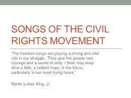 theme song luther songs of the civil rights movement ppt video online download