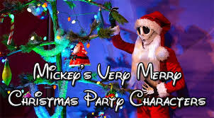 mickey u0027s merry christmas party characters kennythepirate