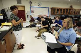 Anatomy And Physiology Class St Viator In Arlington Heights Starts 50th Year