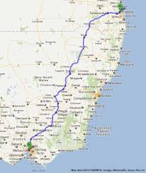 map of the road road maps brisbane to melbourne road map