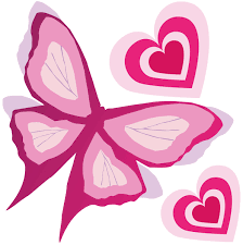 pink butterfly border clipart panda free clipart images
