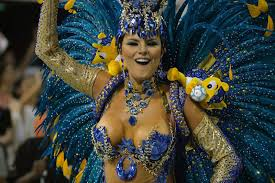 carnival brazil costumes contest entry samba dancer with carnival costumes andrea martins