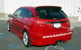 2000 ford focus zx3 k011040u 2000 2004 ford focus zx3 rear fascia pur kaminari