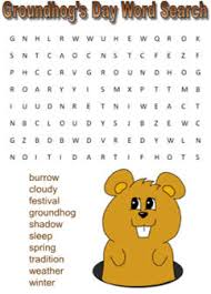 groundhog u0027s word easy kids