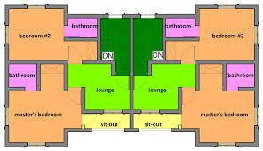 4 storey residential building floor plan u2013 modern house