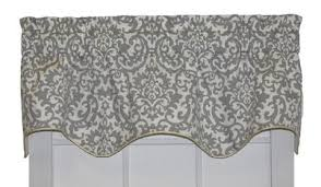 Black And White Damask Curtain Duncan Damask Curtain Collection Damask Print Window Toppers