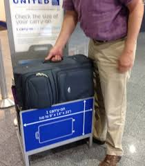carry on size united increased enforcement of carry on bag limits may cure this suitcase