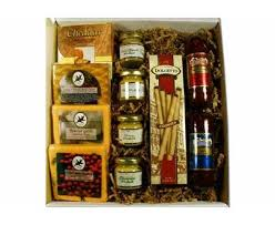 cheese gifts meat and cheese gift box