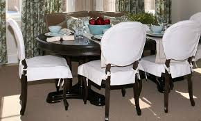 Dining Room Chair Slipcover Pattern Diy Dining Room Chair Cushions Leetszonecom How To Re Cover A