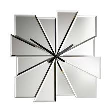 Large Mirrored Wall Clock Stupendous Wall Clock Mirror 25 Decorative Wall Clock Mirror Large