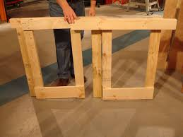Carpentry Work Bench How To Make A Fold Down Workbench How Tos Diy