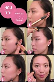 after applying your foundation dip your brush into the bronzer how to bronzer how to put bronzer on your cheeks solution for how to for dummies