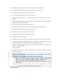 Resume Blast Service Resume Garment Manager