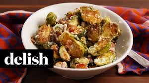 how to make bacon ranch brussels sprouts recipe delish