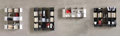 librerie muro libreria a muro moderna in metallo intrecci le monde wood