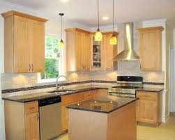 Unique Natural Birch Kitchen Cabinets Cabinet With Color Counter - Natural kitchen cabinets
