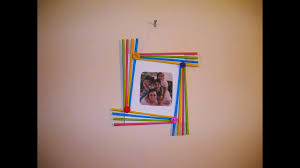 Decorative Gifts For The Home by Diy Easy Photo Frame Birthday Gift Idea Room Decoration Made
