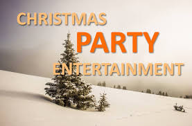 christmas party entertainment for work staff office parties