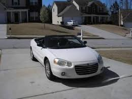 2004 Chrysler Sebring Convertible Interior Chrysler Sebring Convertible Ebay