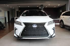 lexus rx white lexus rx 450h f sport 2016 white u2013 deluxe auto