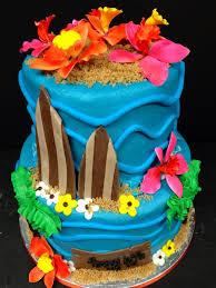 surf board cake
