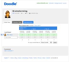 doodle poll ifneedbe redesign update in doodle s history doodle