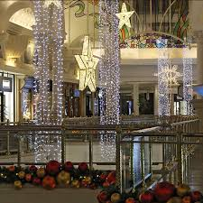 commercial grade shopping malls decoration led light curtain
