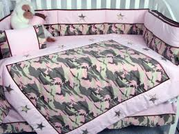 girls camouflage bedding amazon com soho pink camo baby crib nursery bedding set 13 pcs