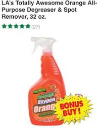 La S Totally Awesome Bulk La U0027s Totally Awesome Cleaner With Bleach Refill Bottles 64