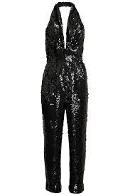 sequined jumpsuit black sequined jumpsuit pinkclouds vintage fashion