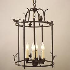 hanging light not hardwired jvi designs hanging bird cage 12 in w rust hardwired standard