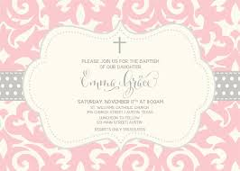 Christening Invitation Card Maker Online Elegant Damask Baptism Invitation