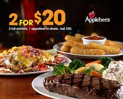 applebees coupons on phone applebee s color cuisine and coupons so