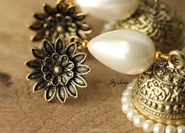 earrings online pearl antique gold handmade earrings handmade earrings online