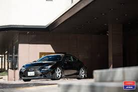 lexus rc drift car lexus rc f by skipper japan has vossen wheels autoevolution