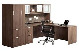 L Shaped Office Desk With Hutch Gsa Approved Furniture 1 800 531 1354 Trusted 30 Years