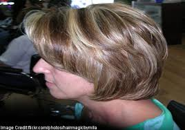 frosting hair highlighting and hair frosting tips