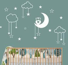 stickers étoile chambre bébé stickers chambre bébé 28 belles idées de décoration murale bb