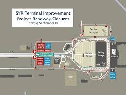 Syracuse Map 45 Million Upgrade To Syracuse Airport To Start Monday Syracuse Com